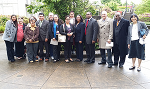 Several of the advocates who testified at Monday's OSPI hearing on school discipline.
