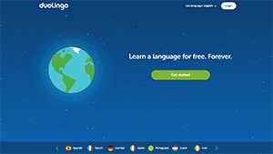 duolingo homepage - summer learning loss