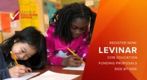 Funding Proposal Side-By-Side LEVinar - League of Education Voters