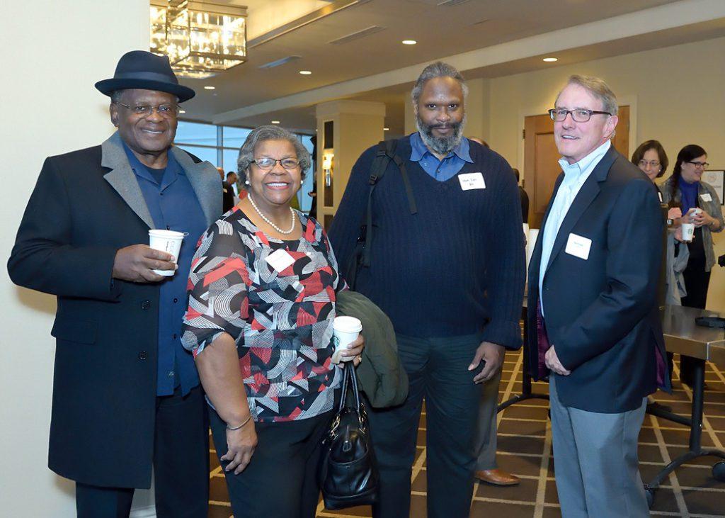 League of Education Voters 2017 Annual Breakfast - Board Member Bob O'Hara and former Board Member Thelma Jackson
