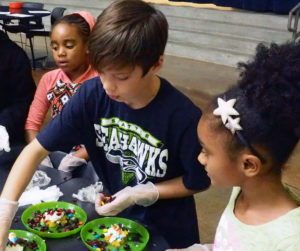 Kids Co. Chopped Competition, part 2 - League of Education Voters