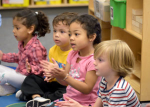 Preschool students at South Shore PreK-8 - League of Education Voters